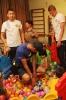 1 июня. Футболисты и администрация клуба «Дордой» дарят праздник детям из Беловодского детдома