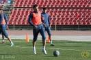 27 февраля. «Дордой» провел тренировку на центральном стадионе Душанбе
