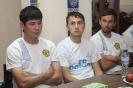 9 июля. Собрание игроков, тренерского и технического штаба клуба «Дордой»